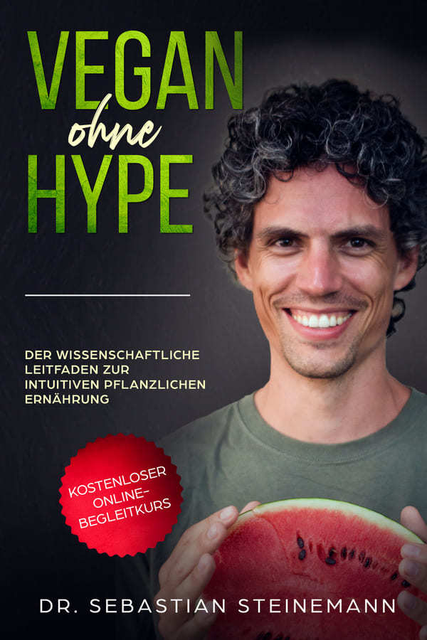 vegan ohne hype cover