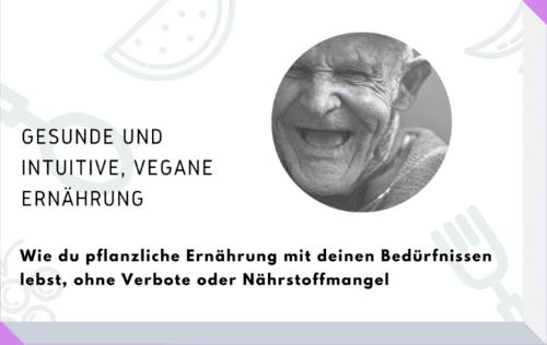 Broschüre intuitiv vegan